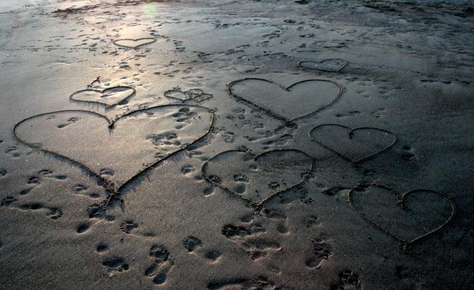 Love, love, love, love, love…